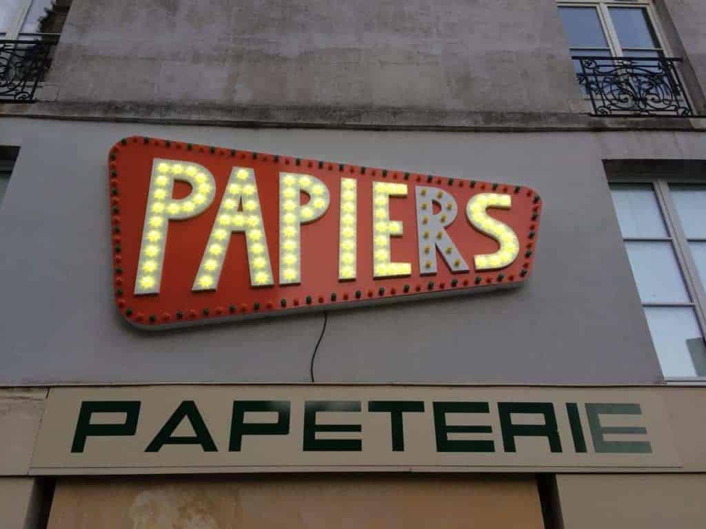Nantes - Papeterie