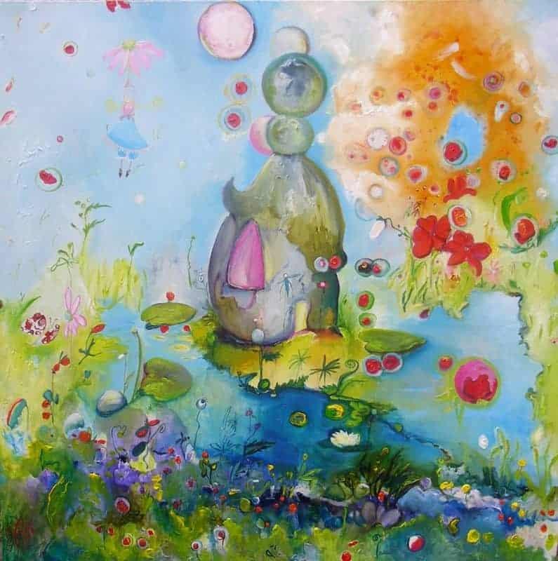 Isabelle Brisset - Bulles en fleurs