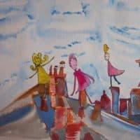 Isabelle Brisset - Sur le toit